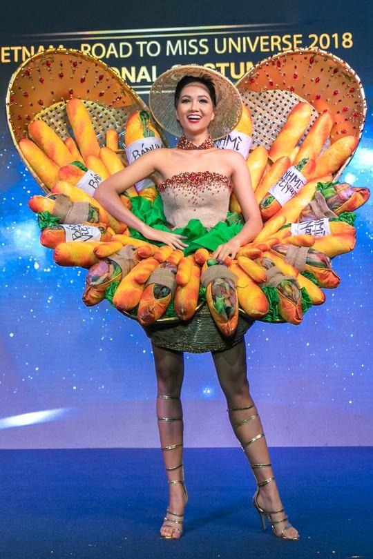 Độc đáo bộ trang phục của H'hen Niê mang đến Miss Universe - Ảnh 1.