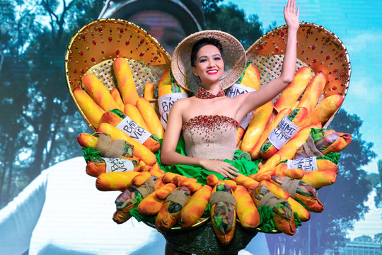 Độc đáo bộ trang phục của H'hen Niê mang đến Miss Universe - Ảnh 2.