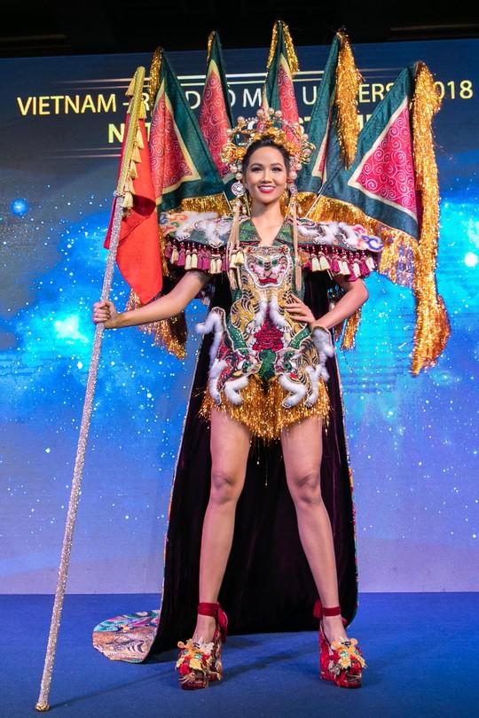 Độc đáo bộ trang phục của H'hen Niê mang đến Miss Universe - Ảnh 6.