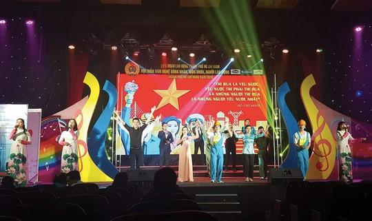 Hơn 2.100 diễn viên tham gia hội diễn Bài ca người lao động - Ảnh 1.