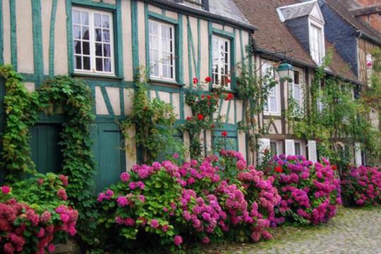 Những ngôi nhà thơ mộng đẹp như cổ tích ở làng quê nước Pháp - Ảnh 14.