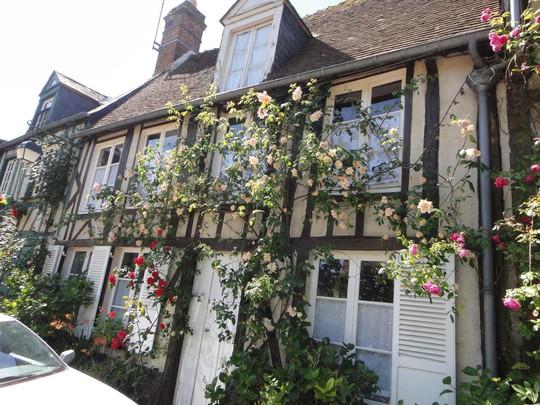 Những ngôi nhà thơ mộng đẹp như cổ tích ở làng quê nước Pháp - Ảnh 7.