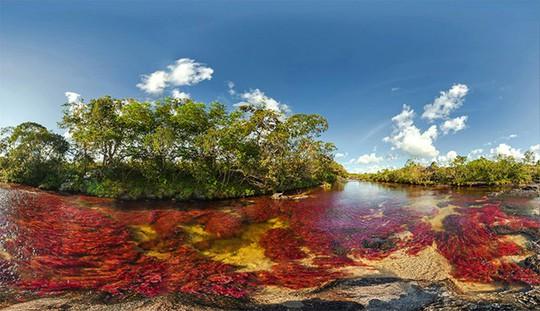 Khó tin nhưng có thật: Sông có 5 màu biến đổi theo mùa - Ảnh 6.