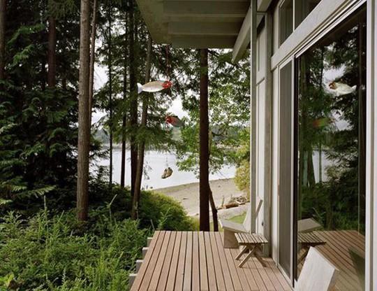 Biệt thự 60 năm giữa rừng gây choáng vì đẹp và hiện đại - Ảnh 8.