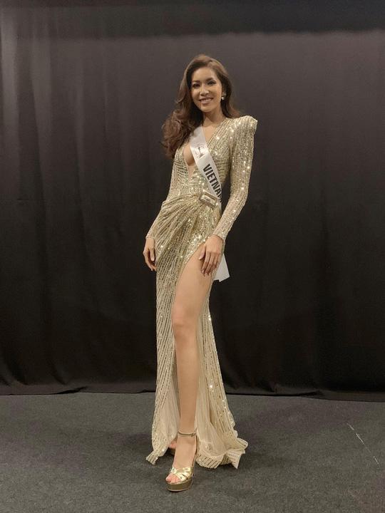 Minh Tú gặp rắc rối lớn tại cuộc thi Hoa hậu Siêu quốc gia - Ảnh 1.