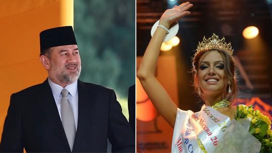 Lộ ảnh vua Malaysia cưới hoa khôi Moscow - Ảnh 4.