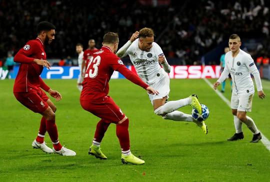 Neymar rực sáng, Liverpool gục ngã ở đại chiến thành Paris - Ảnh 1.