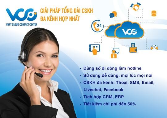 VCC - Giải pháp tối ưu kết nối giữa khách hàng và doanh nghiệp - Ảnh 1.