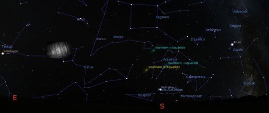 """""""Mặt trăng ma"""" xuất hiện trong quỹ đạo quanh trái đất - Ảnh 1."""