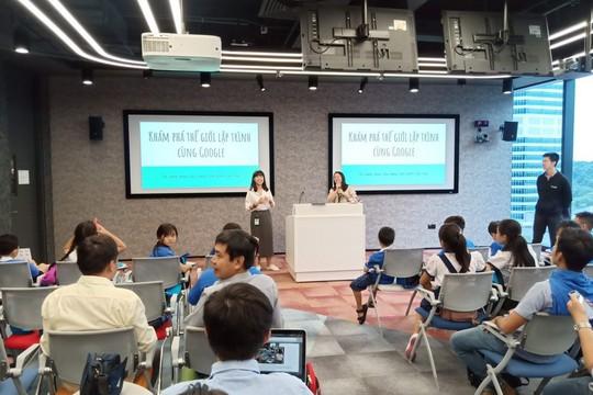 Google dạy lập trình Scratch để giúp trẻ em Việt Nam phát triển tư duy sáng tạo - Ảnh 1.