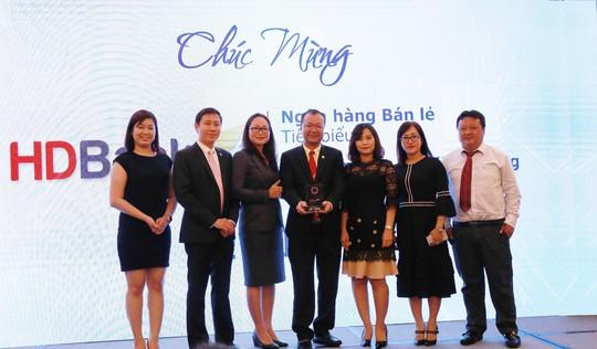 HDBank nhận giải Ngân hàng bán lẻ tiêu biểu năm 2018 - Ảnh 1.