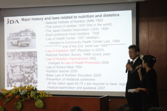 Tăng cường hoạt động dinh dưỡng lâm sàng tại Việt Nam - Ảnh 1.