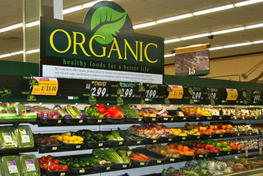 """Cơn """"khát"""" rau củ, trái cây organic"""