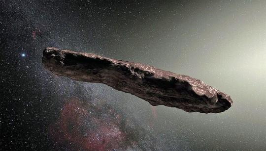 Tiểu hành tinh quái dị là tàu vũ trụ của người ngoài trái đất? - Ảnh 1.