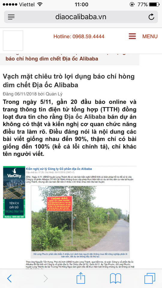 Real Estate Alibaba sued a journalist to say he is being stigmatized - photo 2.