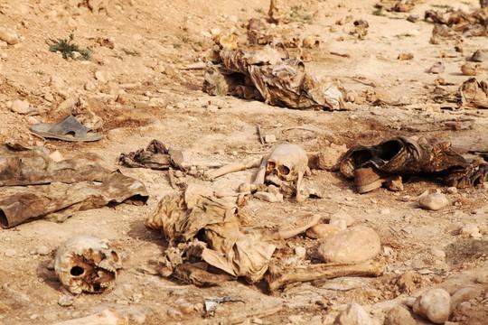 Phát hiện các mộ chôn 12.000 thi thể nạn nhân IS - Ảnh 2.