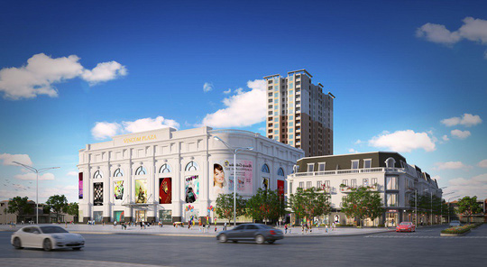 Vincom Retail ra mắt Vincom Shophouse Dĩ An - Ảnh 1.
