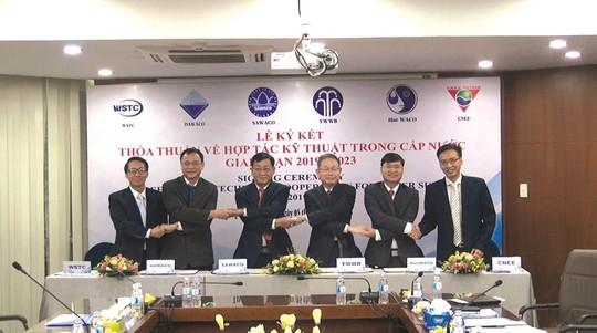 Sawaco ký kết thỏa thuận hợp tác trao đổi kỹ thuật 6 bên - Ảnh 1.