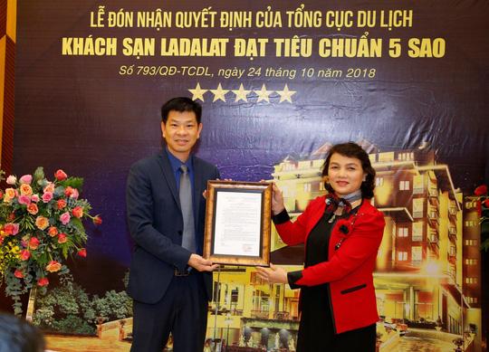 Khách sạn Ladalat chính thức được công nhận là khách sạn 5 sao - Ảnh 1.