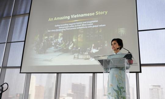 Bà Lê Hoàng Diệp Thảo khẳng định tiếng nói của cà phê Việt Nam trên diễn đàn CEO toàn cầu - ảnh 2