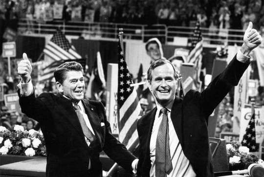 """Những cột mốc đáng nhớ trong cuộc đời ông Bush """"cha"""" - Ảnh 4."""