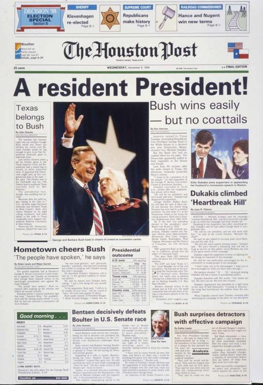"""Những cột mốc đáng nhớ trong cuộc đời ông Bush """"cha"""" - Ảnh 5."""