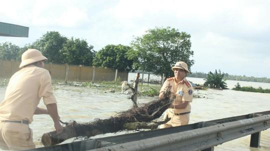 Quốc lộ 1 qua Quảng Nam chính thức thông tuyến sau 2 ngày tê liệt - Ảnh 4.