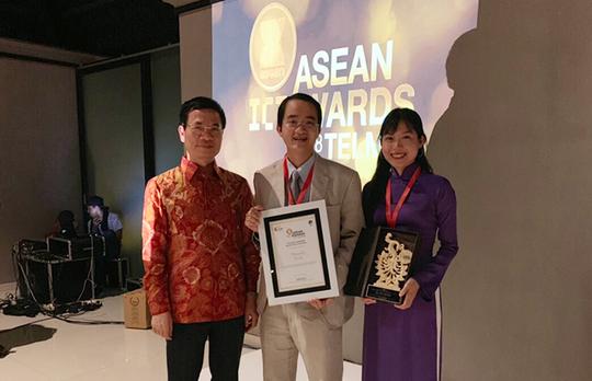Đại học Duy Tân giành giải bạc tại ASEAN ICT Awards 2018 - Ảnh 1.