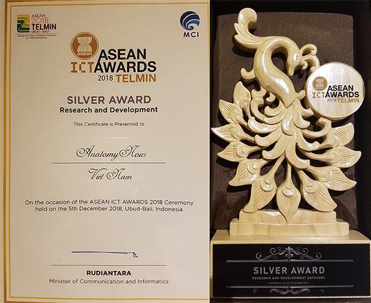 Đại học Duy Tân giành giải bạc tại ASEAN ICT Awards 2018 - Ảnh 2.