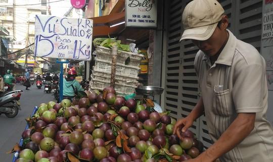 Trái vú sữa Việt Nam tại Mỹ có giá khoảng 350.000 đồng/kg