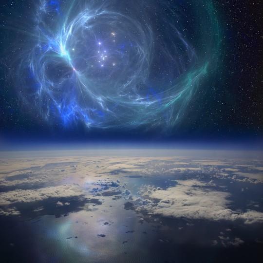 """Những ngôi sao phát nổ thành siêu tân tinh đã tung """"mưa"""" phóng xạ xuống trái đất, tiêu diệt hàng loạt sinh vật biển cỡ lớn - ảnh minh họa từ LIVE SCIENCE"""