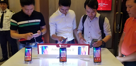 Vsmart ra mắt 4 smart phone tầm trung, giá rẻ - Ảnh 5.
