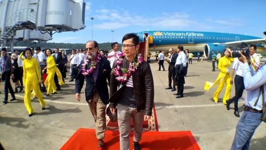 Nhà ga 1.000 tỉ đồng sân bay Phú Quốc đi vào hoạt động - Ảnh 1.