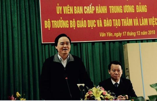 Bộ trưởng Phùng Xuân Nhạ lên tiếng về vụ hiệu trưởng nghi xâm hại nam sinh - Ảnh 1.