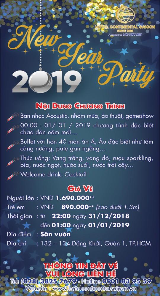 Chào đón mùa lễ hội tại khách sạn Continental Sài Gòn - Ảnh 2.