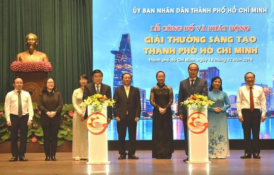 Phát động Giải thưởng Sáng tạo TP HCM - Ảnh 1.