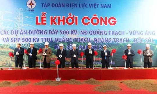 Xây dựng đường dây 500 kV gần 12.000 tỉ đồng trước nguy cơ thiếu điện tại miền Nam