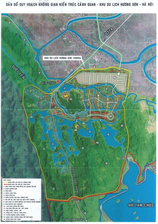 Lo ngại về siêu dự án tâm linh 15.000 tỉ tại Chùa Hương - Ảnh 2.