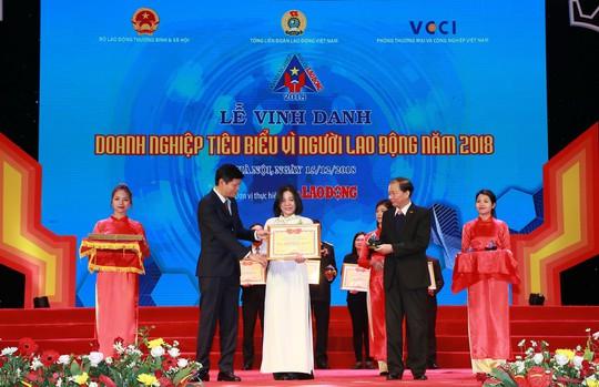 """BIDV xuất sắc nhận giải """"Doanh nghiệp tiêu biểu vì Người lao động"""" - Ảnh 1."""