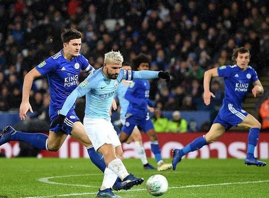 Thắng penalty nghẹt thở, Man City vào bán kết Cúp Liên đoàn Anh - Ảnh 6.