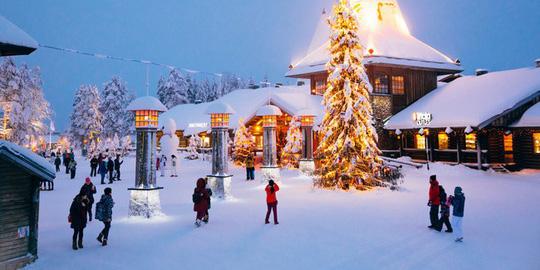 Ngắm những ngôi nhà đẹp như cổ tích trong mùa Giáng sinh - Ảnh 1.
