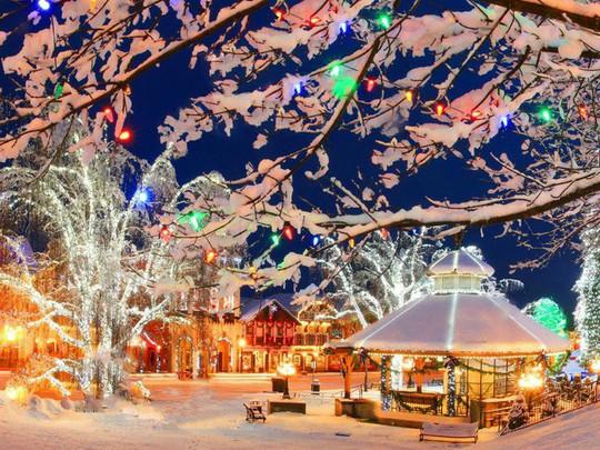 Ngắm những ngôi nhà đẹp như cổ tích trong mùa Giáng sinh - Ảnh 29.