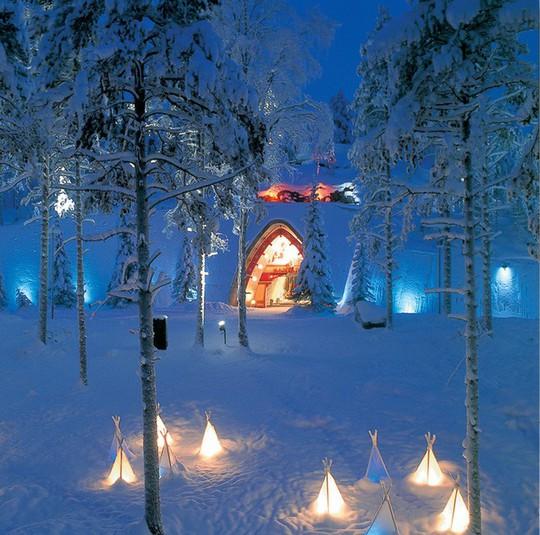 Ngắm những ngôi nhà đẹp như cổ tích trong mùa Giáng sinh - Ảnh 4.