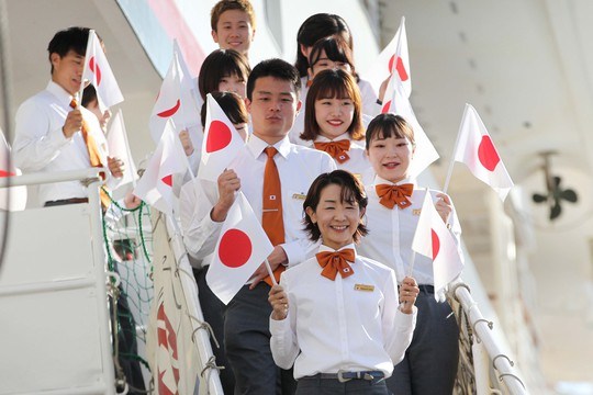 Tàu Nhật Bản chở 326 thanh niên ưu tú cập cảng Cát Lái - Ảnh 4.