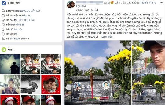 Sau khi an táng vợ chết bất thường tại Trung tâm GDTX Lâm Đồng, chồng chết dưới hồ - Ảnh 2.