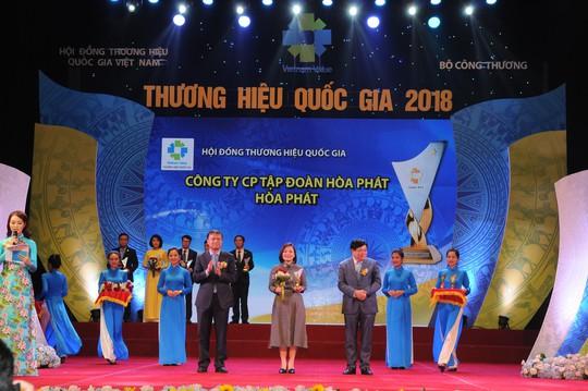 Hòa Phát là Thương hiệu quốc gia lần thứ 4 liên tiếp - Ảnh 2.