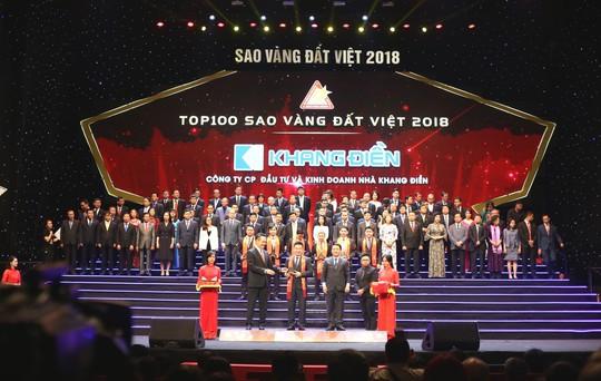 Các doanh nghiệp đạt giải thưởng Sao Vàng Đất Việt 2018 - Ảnh 2.