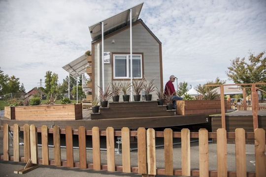 Ngôi nhà có thể tự xoay đón nắng mặt trời cực độc - Ảnh 2.