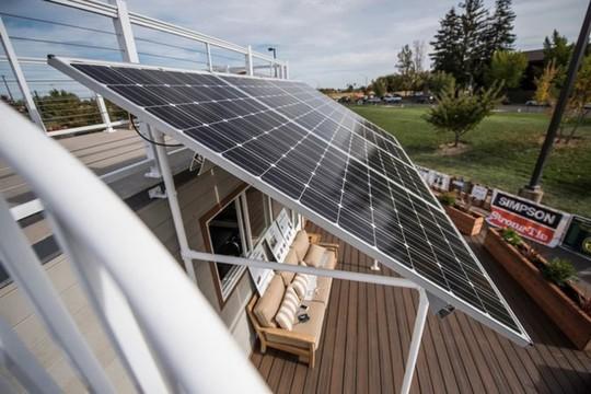 Ngôi nhà có thể tự xoay đón nắng mặt trời cực độc - Ảnh 3.