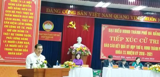 Chủ tịch Đà Nẵng Huỳnh Đức Thơ: Việc tôi đi hay ở là do Trung ương quyết định - Ảnh 1.